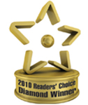 Diamond Winner - 2010 Readers Choice